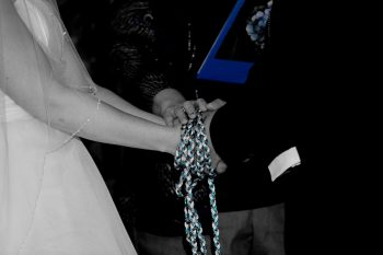 celtic handfasting at wedding